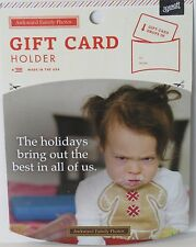 """The Holidays Bring Out The Best In All Of Us"" Funny Gift Card Holder"
