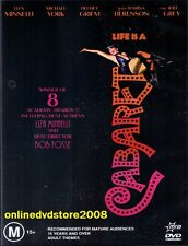CABARET (Liza MINNELLI Micheal YORK) Drama Musical Film DVD Region 4