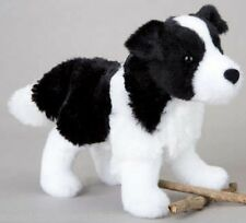 "Border Collie stuffed animal plush 7"" toy Meadow black white dog"