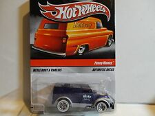 Hot Wheels Sweet Rides Purple Funny Money Truck Rider Wheels