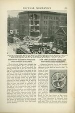 1921 Magazine Article Springfield Massachusetts Electric Railway Wreck Freight