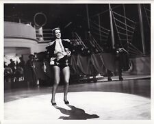 ELEANOR POWELL Original Leggy Dancer CANDID Vintage 1942 SHIP AHOY MGM DBW Photo