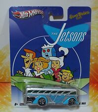HOT WHEELS 2011 HANNA BARBERA THE JETSONS SURFIN SCHOOL BUS REAL RIDERS