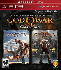 God of War Collection (1&2) PS3 New Playstation 3