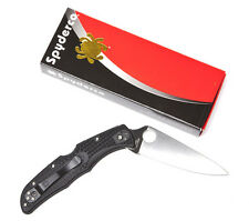 Spyderco Endura4 Lightweight Black FRN Flat Ground PlainEdge C10FPBK