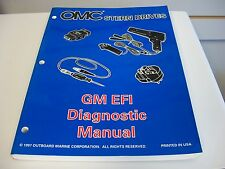 USED OMC STERN DRIVES SERVICE MANUAL GM EFI DIAGNOSTIC MANUAL 501202