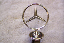 MERCEDES-BENZ   300D HOOD  GRILL ORNAMENT EMBLEM oem BADGE 1980'S 1990'S