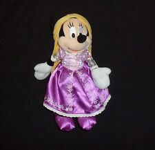 "Disney Parks Authentic Minnie Mouse As Rapunzel Princess Plush 12""  Doll   #99"