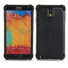 Rugged Protective Hard Case Cover For Samsung Galaxy Note 3 III N9000 Black