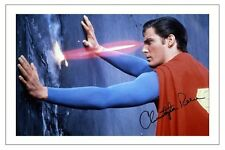 CHRISTOPHER REEVE SUPERMAN  SIGNED PHOTO PRINT AUTOGRAPH POSTER