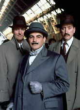 PHOTO HERCULE POIROT – DAVID SUCHET - 11X15 CM  # 2