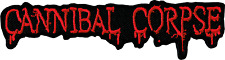 39214 Cannibal Corpse Bloody Red Logo Heavy Metal Embroidered Sew Iron On Patch