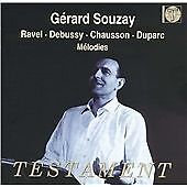 Gérard Souzay Sings Ravel, Debussy, Chausson, Duparc (2003) new sealed cd