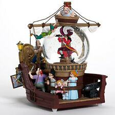 Disney Peter Pan Ship Snowglobe Brand NEW in BOX with Music and Light Tinkerbell
