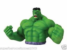 The Avengers Incredible Hulk Bust Bank Marvel Comics Piggy Bank NEW