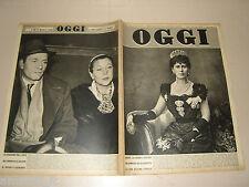 OGGI=1953/14=VIVIEN LEIGH=LORETTO PETRUCCI=LORENZO RAGO=RIVA DEL GARDA MUSEO=