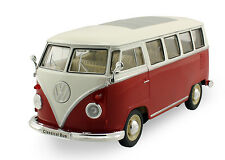 Welly 1963 Volkswagen T1 Classical Bus 1:24 scale diecast model car Red W111