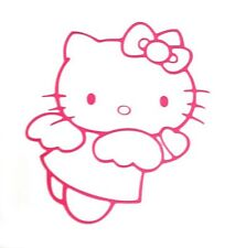 HELLO KITTY ANGEL(#07) STICKER VINYL DECAL VEHICLE CAR WALL LAPTOP