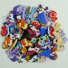 50pcs My Little Pony Shoe Charms Decoration for Clog&Jibitz Silicone Wristband