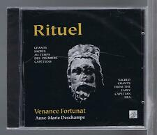 VENANCE FORTUNAT CD NEW SACRED & GREGORIAN  CHANTS ANNE MARIE DESCHAMPS