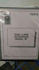 Terex CMI  Parts MANUAL  Dual Lane Autograde Model B