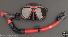 High Quality Snorkelling Diving Liquid Silicone Set WIL-DS-52 with Dry Snorkel