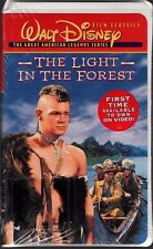 Disney VHS The Light in the Forest Fess Parker James MacArthur New Sealed