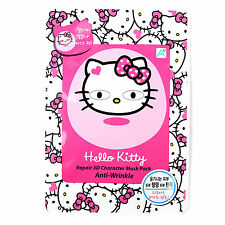 New Hello Kitty Repair 3D Character Mask Pack Anti-Wrinkle 27g x 5Sheet FaceMask