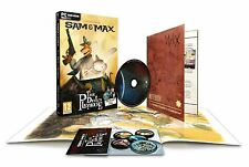 Sam & Max The Devil's Playhouse PC Collectors Edition New Sealed Telltale Games