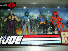 2009 GI JOE DEFENSE OF COBRA ISLAND 7 PACK Mindbender Viper G.I. 25TH SEALED NEW