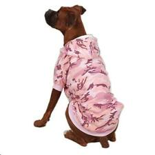 Medium Pink Camo Dog Hoodie Sweatshirt Dog Sweater Dog Coat Poodle USA