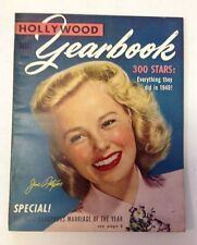 Hollywood Yearbook Magazine  1950   June Allyson Photo Cover