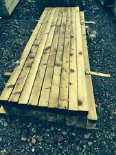 3X3 Treated Timber Fence Posts 2.4m 8ft