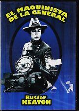Buster Keaton y Clyde Bruckman: EL MAQUINISTA DE LA GENERAL.