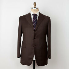 NWT SARTORIA PARTENOPEA Napoli Superfine Wool Suit 42 L (54 L) Handmade in Italy