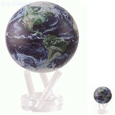 4.5in Satellite View Cloud Cover Mova Globe Geography History Toy Hobby Educatio