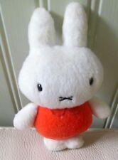 """1983 Sekiguchi plush stuffed toy MIFFY by DICK BRUNA 5 1/2"""" Tall"""