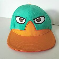 Phineas And Ferb Snapback Cap Disney XD Baseball Trucker Hat Cartoon Characters