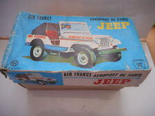 JEEP WILLYS AIR FRANCE AEROPORT DE PARIS AIRPORT ICHIKO TINTOY TOLE in box boite