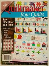 Quiltmaker Row Quilts Projects for Walls Kids Beds Summer 2016 FREE SHIPPING