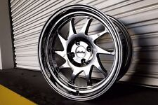 Whistler KR7 Wheels Rims 16x9 4x100 15 Offset Chrome 531 Civic Integra Scion xB