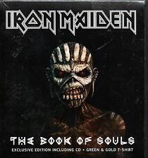 Iron Maiden-Book Of Souls CD (Aussie  Exlusive Box Set includes T shirt)-Brand N