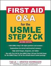 First Aid Q&A for the USMLE Step 2 CK, Second Edition First Aid USMLE