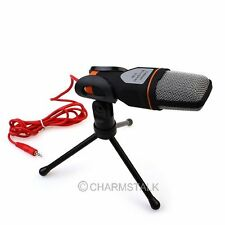 Professional Podcast Studio Microphone w/Stand Skype Webcast Youtube Video