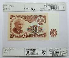 Bulgarien 20 Leva 1974, bankfrisch