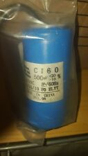 CAPACITOR 500 MF 127 VAC 50/60 HZ FOR AIR COMPRESSOR