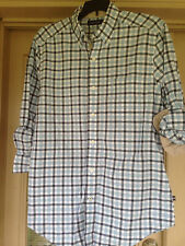NWT Nautica Classic Fit Marine Check Shirt Long Sleeve Cool Breeze Size S Small