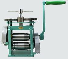 Manual Combination Rolling Mill Machine, Jewelry Tool with Roll Size 123mm  Y