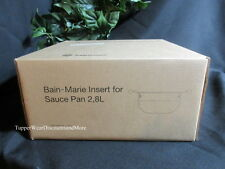 Tupperware NEW  Bain-Marie Insert for Saucepan 2,Chef Series Culinary Collection