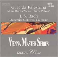 Missa Brevis / Overture Suite 1 Palestrina, Bach, Duvier, Cmr Audio CD